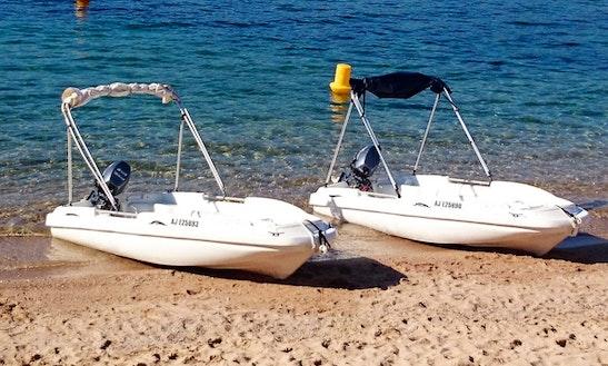 20' Lumac Dinghy Rental In Calcatoggio, France