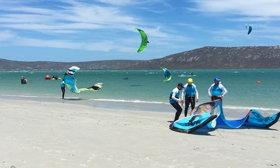 Enjoy Kiteboarding Lessons In Langebaan, South Africa