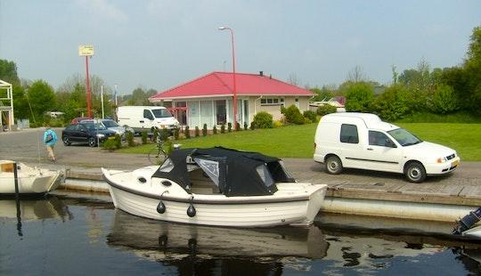 Rent River Cruise 23 Boat In Sneek, Friesland