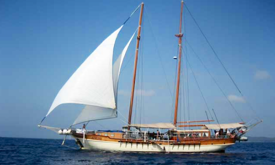 Charter 79' Gulet In Palermo, Italy
