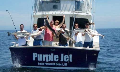 "48ft ""Purple Jet"" Henriques Fishing Charter in Point Pleasant Beach"