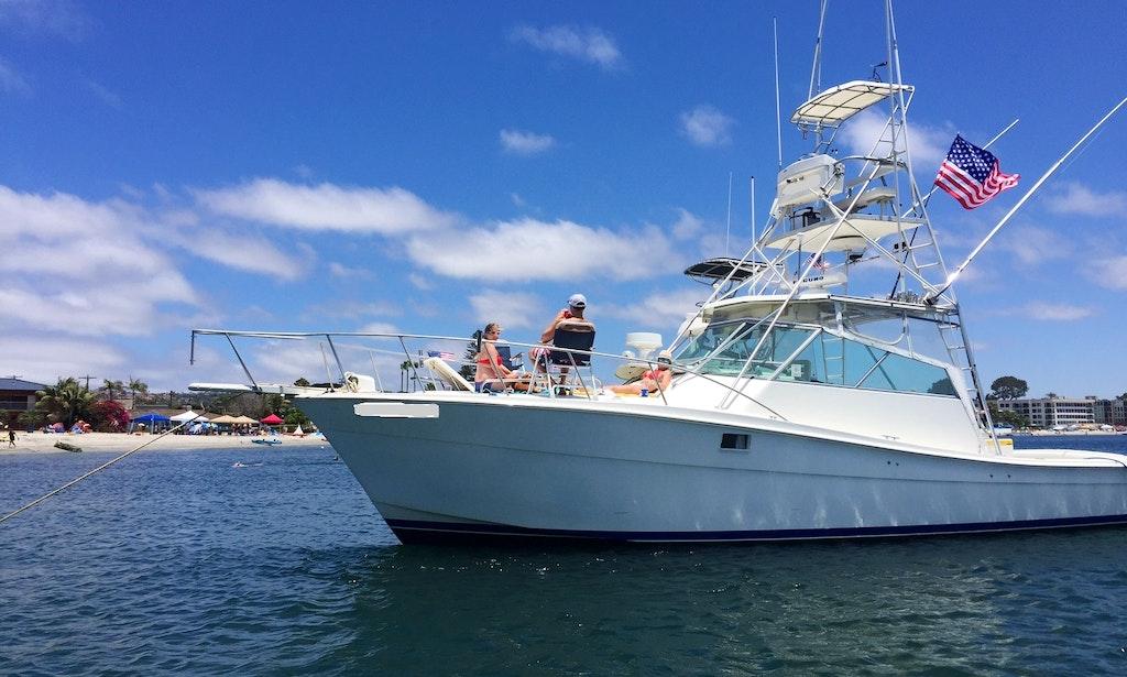 Enjoy 38ft Motor Yacht Charter In San Diego Getmyboat