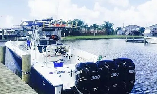 Venice Fishing Charter On 38' Fountain Center Console With Captain Blake