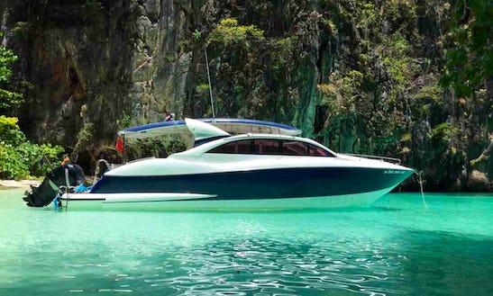 2016 Speed Motor Yacht Rental In Phuket