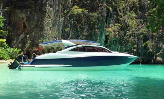 2016 Speed Motor Yacht Rental In Phuket