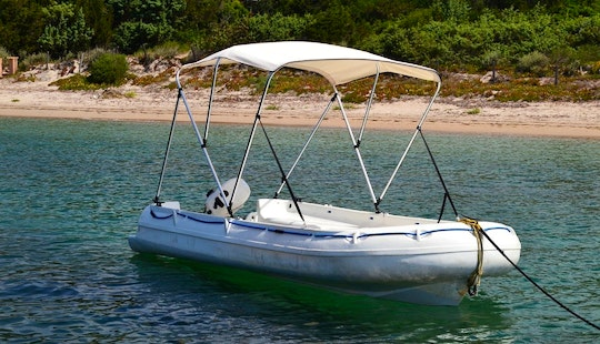Rent San Permis Rigid Inflatable Boat In Porto Vecchio, France