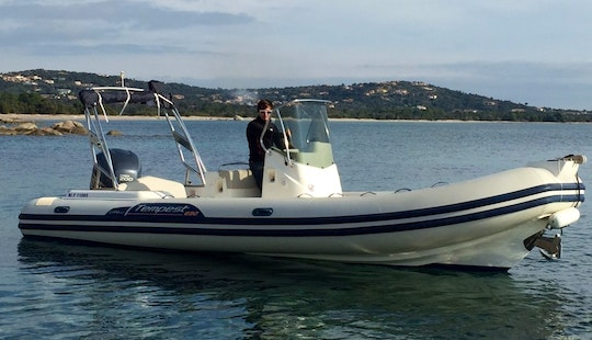 Rent Capelli 626 Rigid Inflatable Boat In Porto Vecchio, France