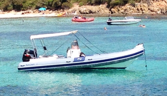 Rent 22' Nadir Rigid Inflatable Boat In Porto Vecchio, France
