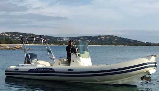 Rent 23' Capelli Rigid Inflatable Boat In Porto Vecchio, France