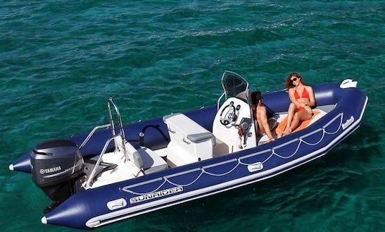 Charter 21' Sunrider 650 Rigid Inflatable Boat In Pays De  La Loire, France