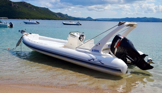 Rent Arimar Rigid Inflatable Boat In Porto Vecchio, France