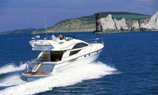 Captained Charter On 52' Fairline Phantom Power Mega Yacht In Naples, Italy