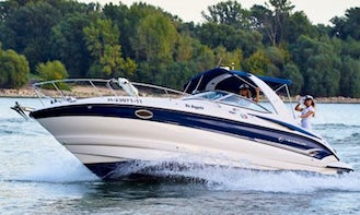 Rent Crowline 270 Motor Yacht in Budapest, Hungary