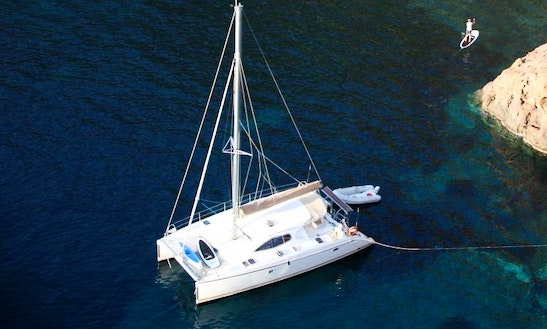 Charter 40' Cruising Catamaran In Coggia, France