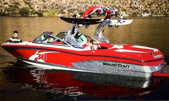 23' Mastercraft X30 Wakesurf Boat Rental In Farmington, Utah