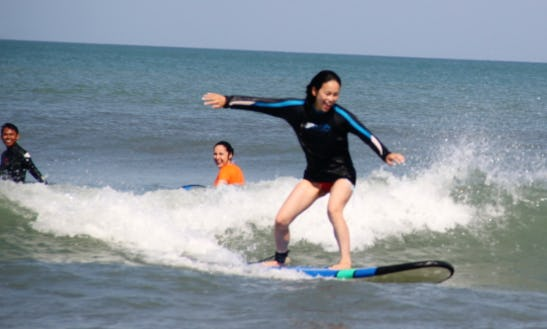 Surfing Lessons In Denpasar, Indonesia