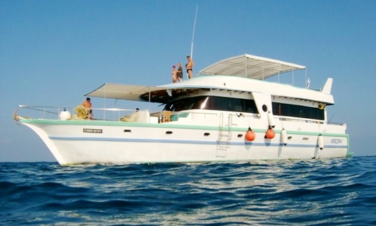 82' Motor Yacht Charter In Malé, Maldives