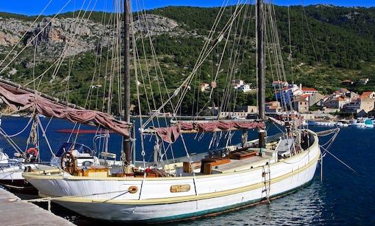 60ft Tall Ship Charter In Klimno, Croatia