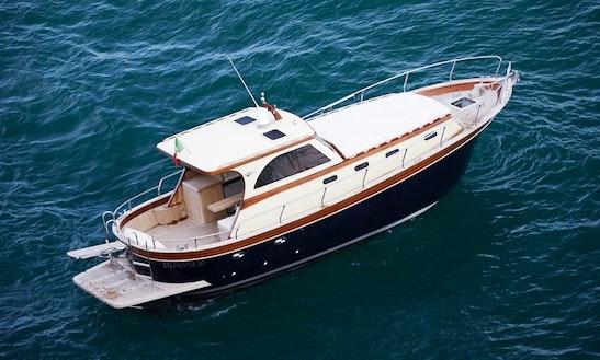 Charter 37' Gozzo Bani Cabinato Tolù Motor Yacht In Piano Di Sorrento, Italy