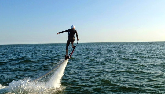 Enjoy Flyboaring In Pornichet, Pays De La Loire