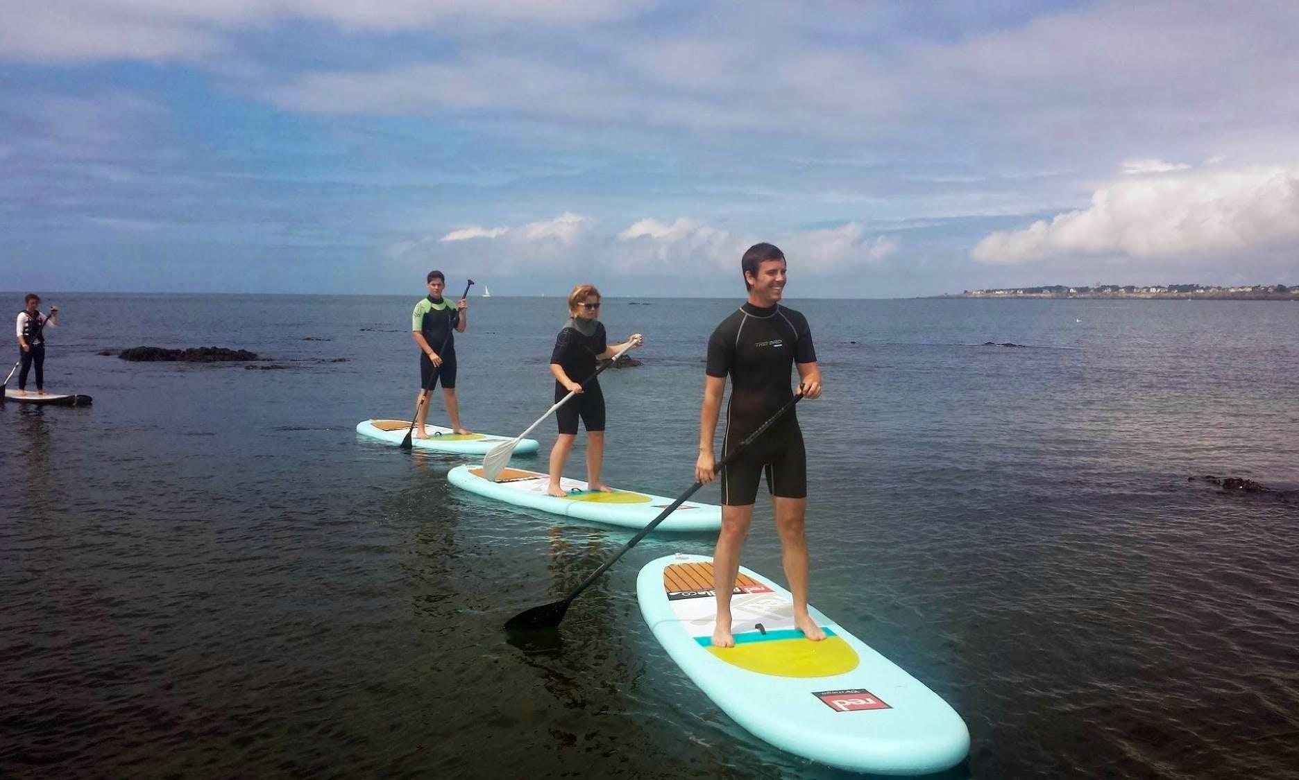 Enjoy Stand UP Paddleboarding in Pornichet, Pays de la Loire