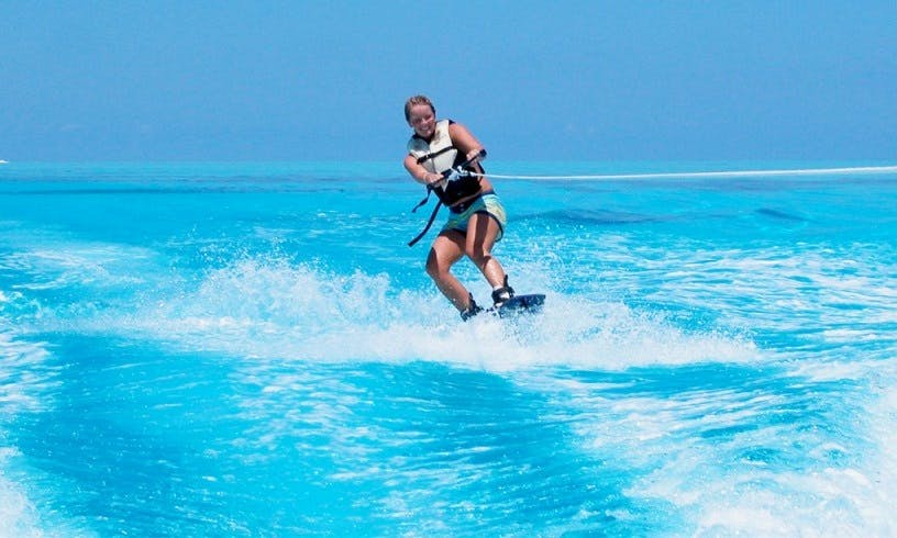 Enjoy Wakeboarding in Noord, Aruba