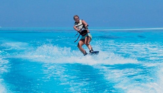 Enjoy Wakeboarding In Noord, Aruba