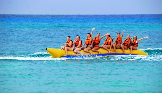 Enjoy Banana Rides In Noord, Aruba