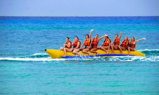 Enjoy Banana Rides In Noord, Aruba