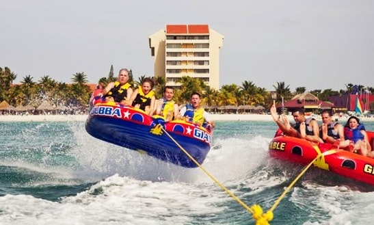 Enjoy Donut Rides In Noord, Aruba