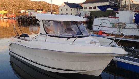 Enjoy Fishing In Finnmark, Norway On 21' Quicksilver 640 Pilothouse Cuddy Cabin