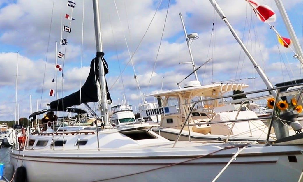 Charter 36ft Sloop In Westbrook, Connecticut