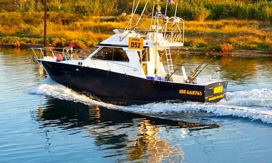Enjoy Fishing In Martigues, France On 31' Marlin Sport Fisherman