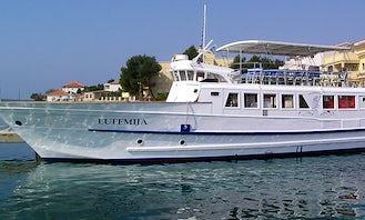 Enjoy Sightseeing in Rab, Croatia on 79' Passenger Boat