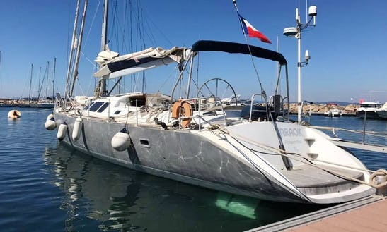 Charter A Cruising Monohull In Hyères, France