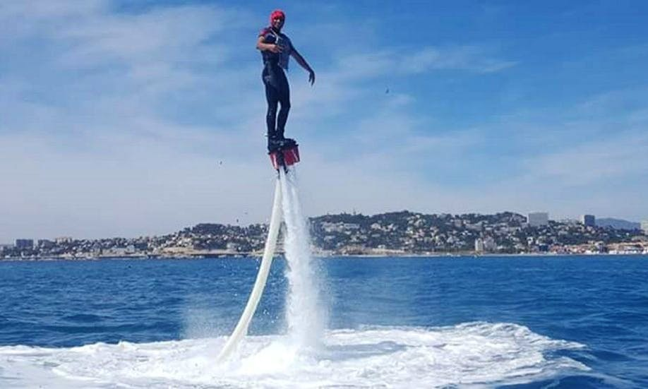 Enjoy Flyboarding in Marseille, France