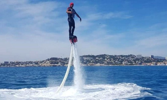 Enjoy Flyboarding In Marseille, France