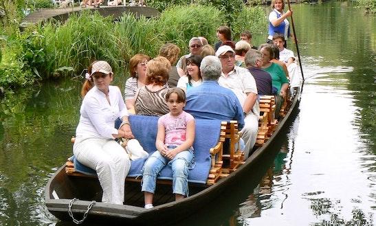 Charter A Canal Boat In Lübbenau, Germany