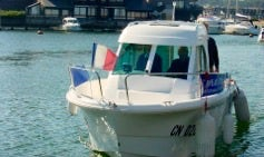 Charter 26' Bofix Motor Yacht in Deauville, France