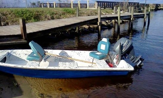 18' Fiberglass Fishing Boat Rental In Lavigne, Ontario