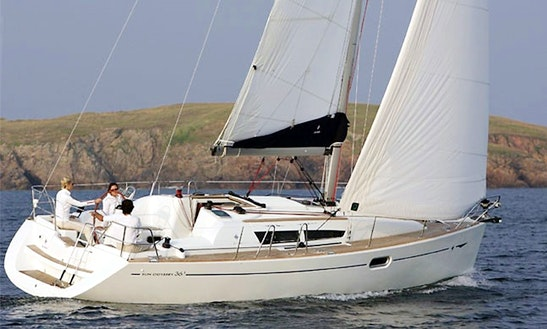 Charter 36' Jeanneau Sun Odyssey 36i Crusing Monohull In Rossaveal Harbour, Ireland