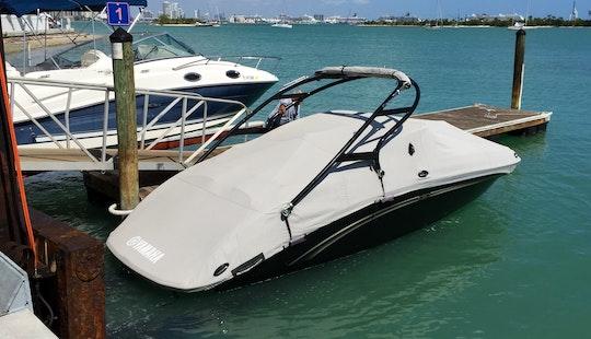 24' Yamaha Bowrider Rental In Biscayne, Florida