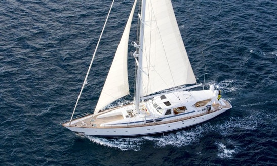 Sailing Mega Yacht Rental In Spain