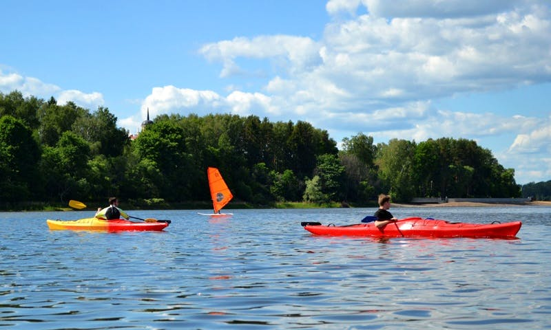 Kayaking Tour in Istra Reservoir, Moscow