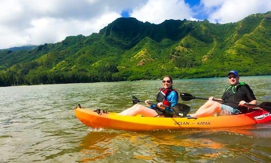 Oahu's Rainforest Kayak Tour And Tandem Kayak Rental In Laie, Hawaii
