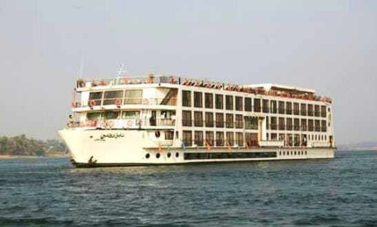 Enjoy Cruising In Gazirat Al Awameyah, Luxor