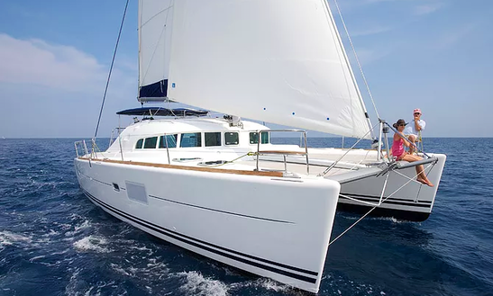 Charter 41' Lagoon Cruising Catamaran In Messina, Italy
