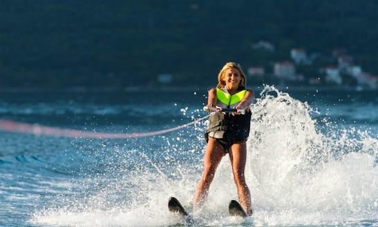 Enjoy Water Skiing In San-nicolao, France
