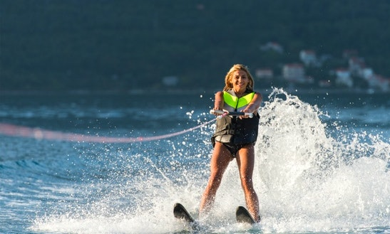 Enjoy Water Skiing In San-nicolao, France