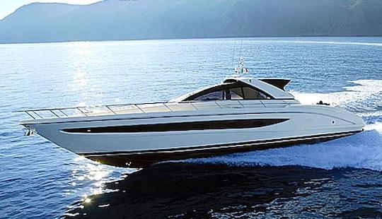 Charter 66' Riva Vertigo 63 Motor Yacht In Olbia, Italy